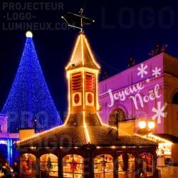 Christmas gobo projector light illumination