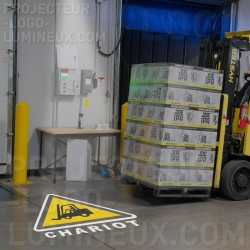 Safety and forklift signs...