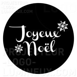 Projection lumineuse visuel Gobo Joyeux Noël