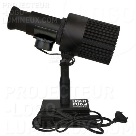 50 Watts indoor LED light logo projector (with rotation)