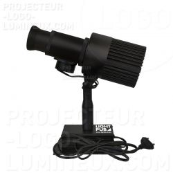 Projecteur gobo/logo lumineux extérieur IP 65 pour enseigne lumineuse LED pas cher
