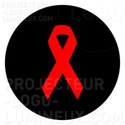 Gobo Ruban rouge Sidaction